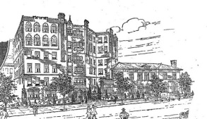 807 Riverside Drive Architectural Rendering (George Fred Pelham)