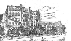 Architects Rendering of 807 Riverside Drive