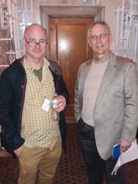 Paul Baumann and Matthew Spady, Opening of the 2015 2015 Invitational Exhibition of Visual Arts