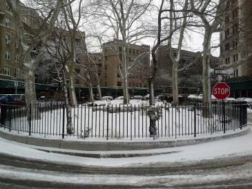 Oval Park in Riverside Drive 2015