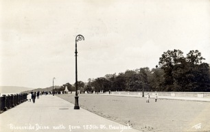 RIverside Drive: 1910, a few months before the final section opened