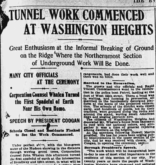 Article About the Groundbreaking Ceremony