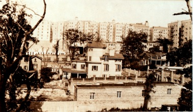 Beginnings of Garage Village