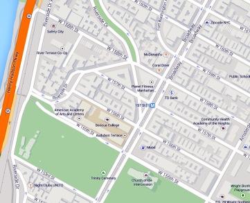 Audubon Park Historic District Footprint