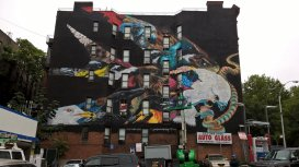 2015-10-03 Audubon Mural Project