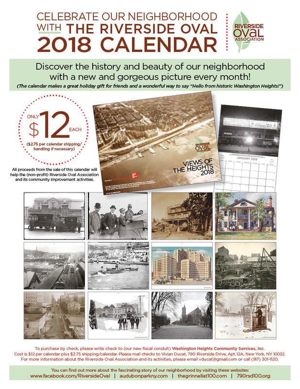 2018 ROA Calendar
