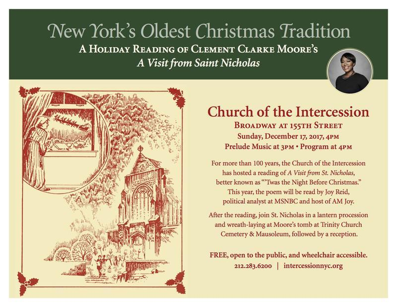 Intercession Visit of St Nick