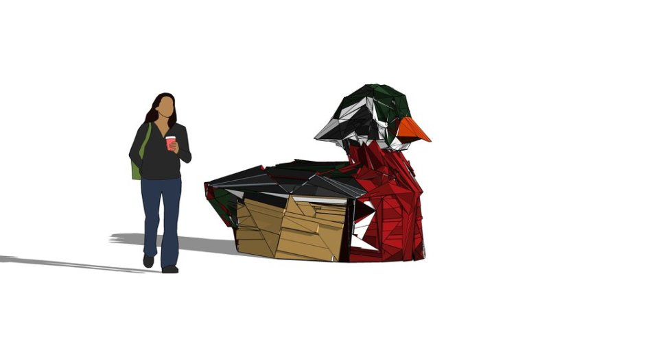 Wood+Duck