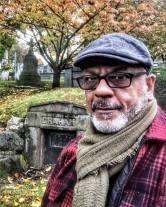 Eric in Cemetery